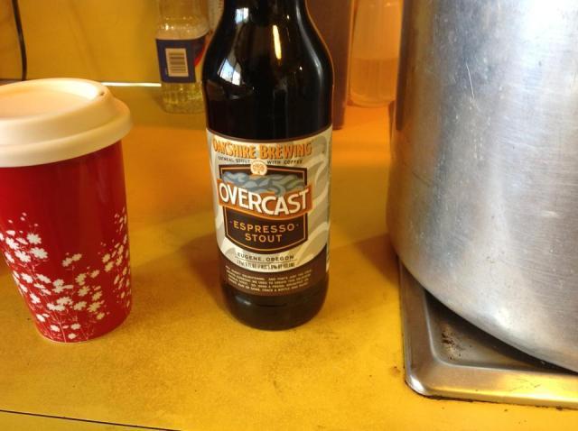 nice dark beer from Oakshire