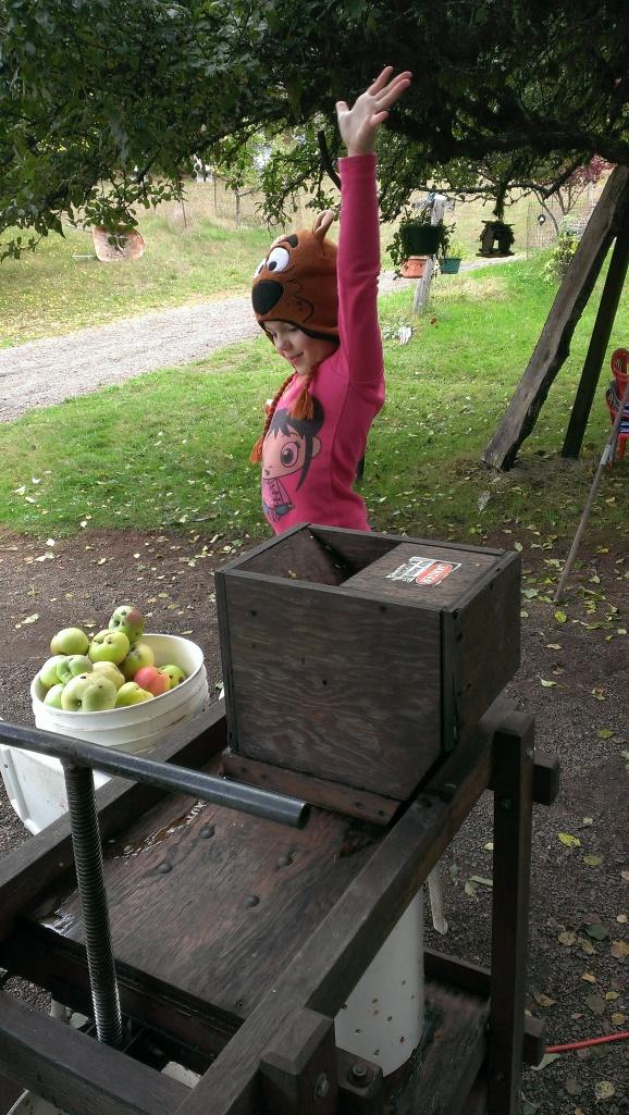Wonder cider maker Katy dooby doo