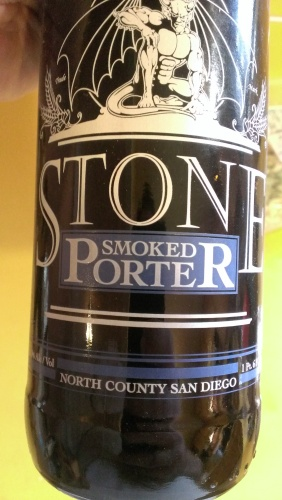 Stone brewing's smoked porter