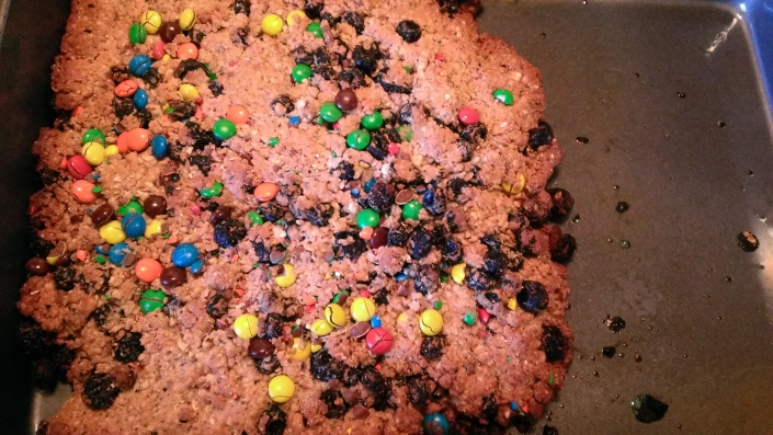 Kinda looks like a giant cookie right out of the oven.
