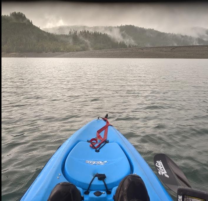 Oregon Kayak fishing
